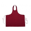 100% cotton adjustable apron with 2 pockets
