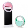 LED ring selfie light